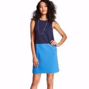 Merona Colorblock Scuba Sheath Dress